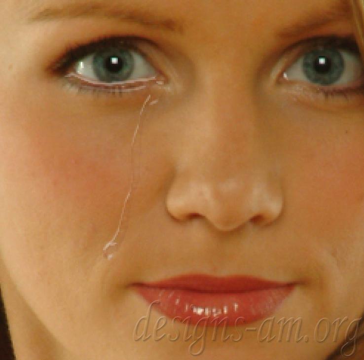 Урок: Създаване на реалистична сълза