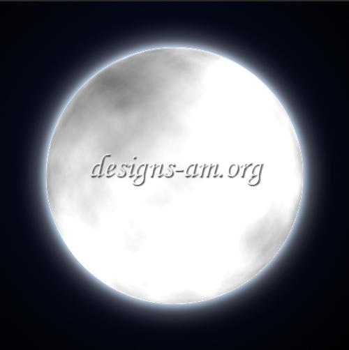 Създаване на реалистична луна с Photoshop (урок/tutorial)
